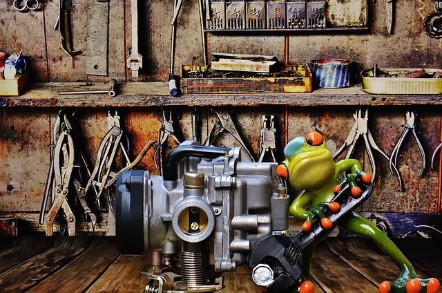 žába mechanik