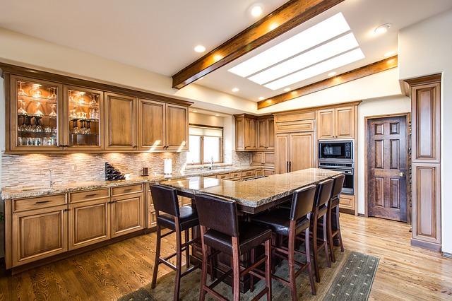 LED panely kuchyně