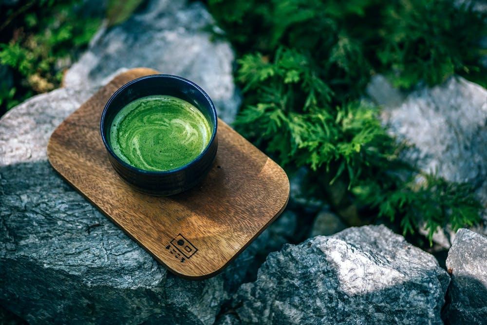 zelený nápo